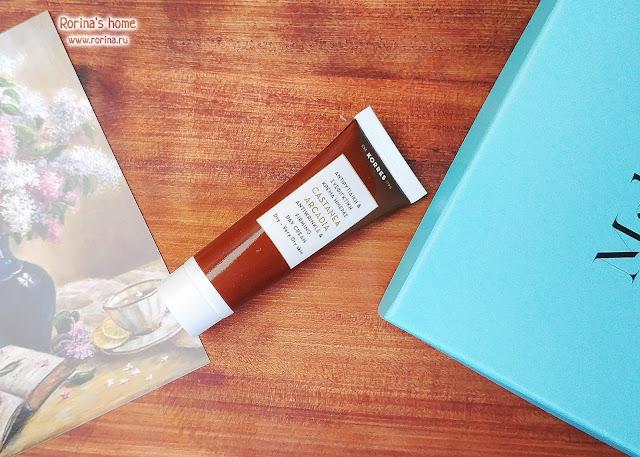 Дневной крем против морщин Castanea Arcadia  Anti-Wrinkle & Firming Day Cream от Korres