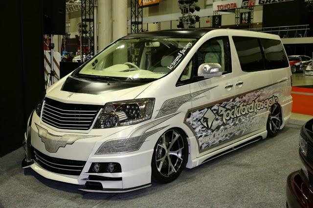 Gambar Modifikasi Toyota Alphard