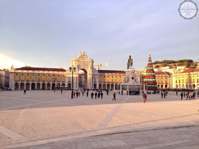 Praça do Comércio - Terreiro do Paço Lisboa