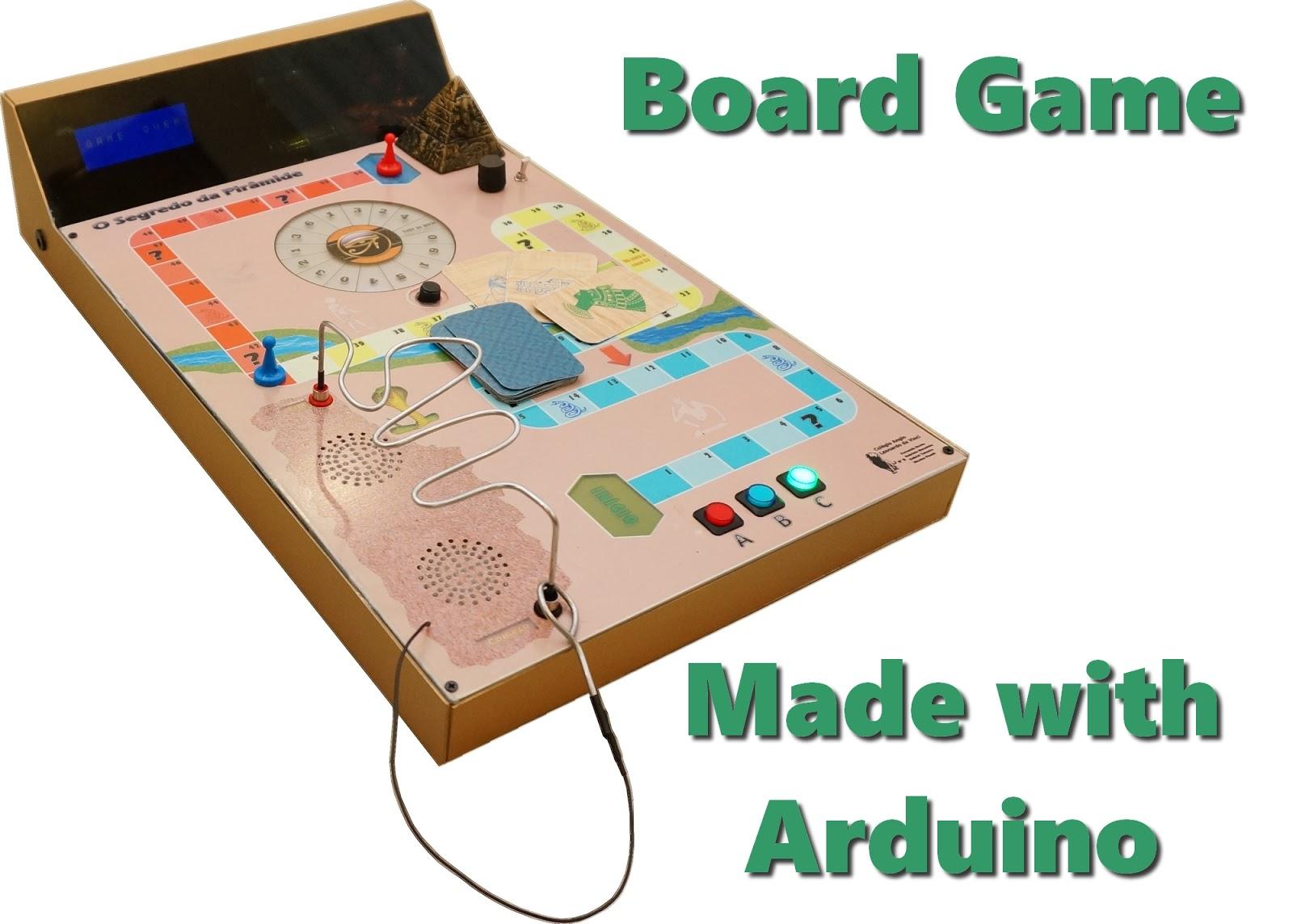Arduino electronic board game maxblitz