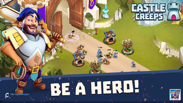 Download Castle Creeps TD Mod Apk Terbaru