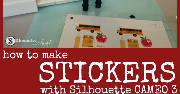 Silhouette Cameo 3 Dual Carriage For Easiest Diy Stickers Ever Silhouette School