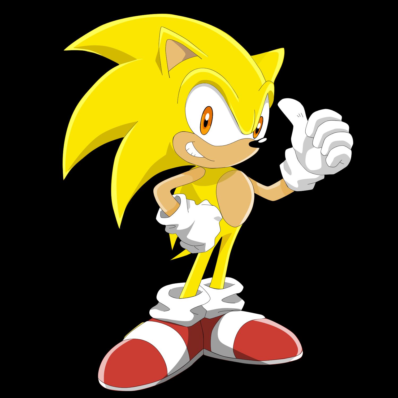Dibujos De Super Sonic Para Colorear Imagesacolorier Website