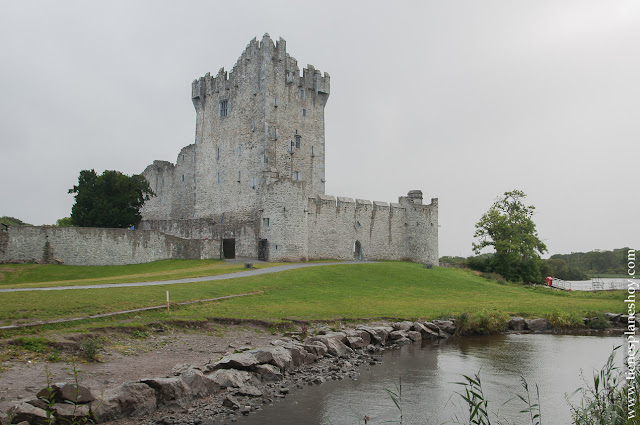 Ross Castle Irlanda castillo Killarney Condado de Kerry