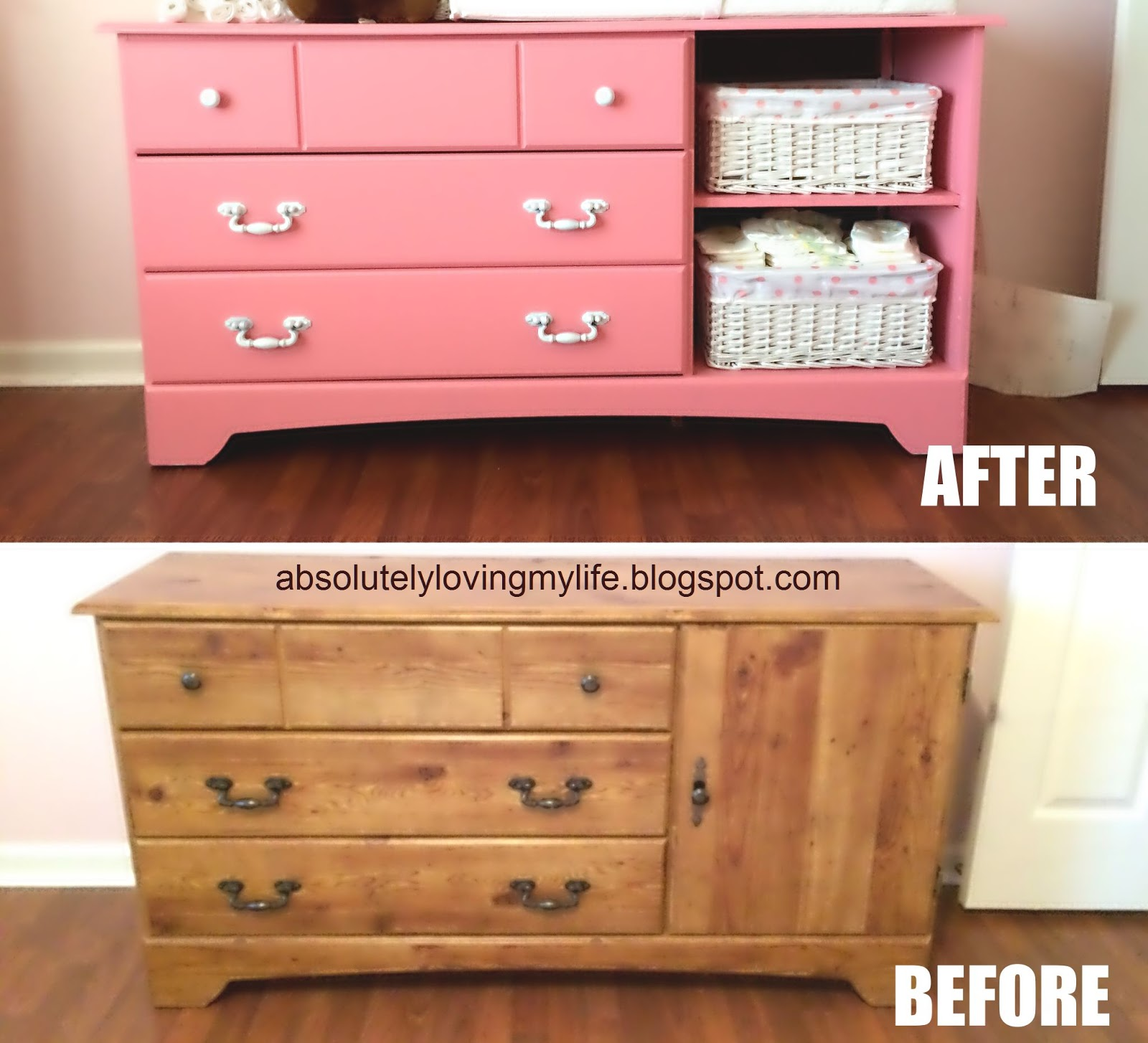 I Knew Was Going To Upcycle A Dresser For The Nursery And Use It As Changing Station Found Myself Searching Fb Garage Sites Weeks