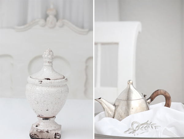 These are beautiful antiques! Just a beautiful set of Photographs. The house these images are from are A Stunning Version of Neutral Shabby Chic Style