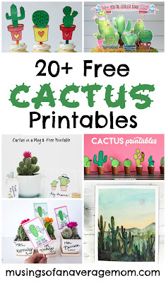Free cactus printables