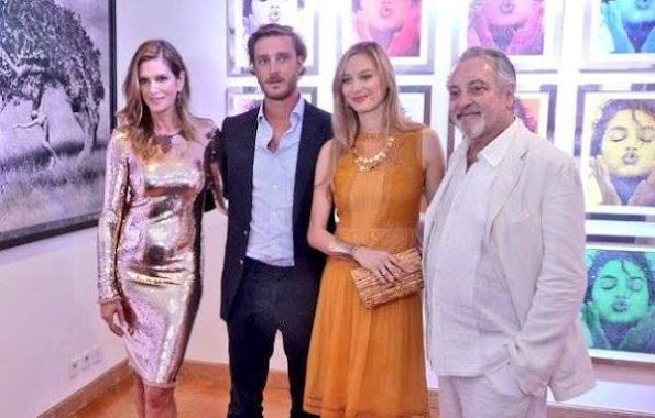 Beatrice Borremeo and Pierre Casiraghi, Marco Glaviano and Cindy Crawford