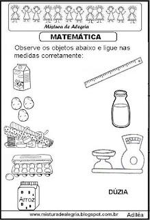 Atividades de matemática séries iniciais de alfabetização