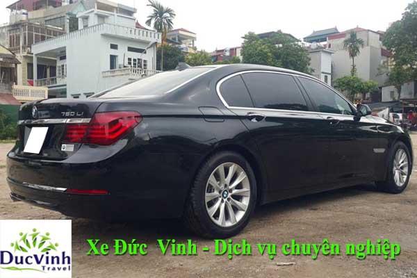 Cho thuê xe cưới BMW 745Li VIP tại Hà Nội
