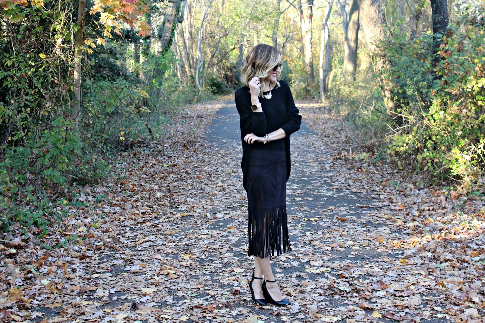 harmony & havoc black outfit