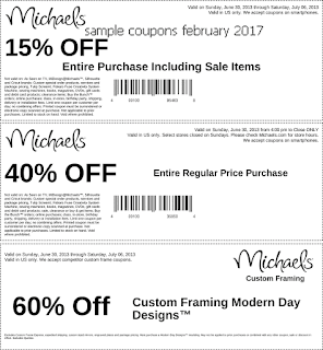 Discount coupons february