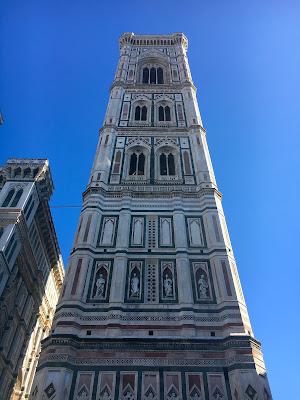 La campanile de Giotto ou tour du clocher de la cathédrale, Florence, Italie