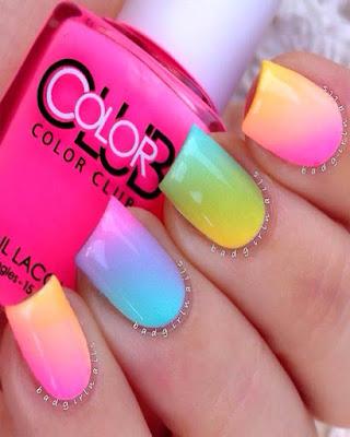 uñas de colores juveniles tumblr