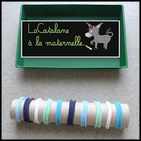 EMO chouchous sur tube carton (LaCatalane)
