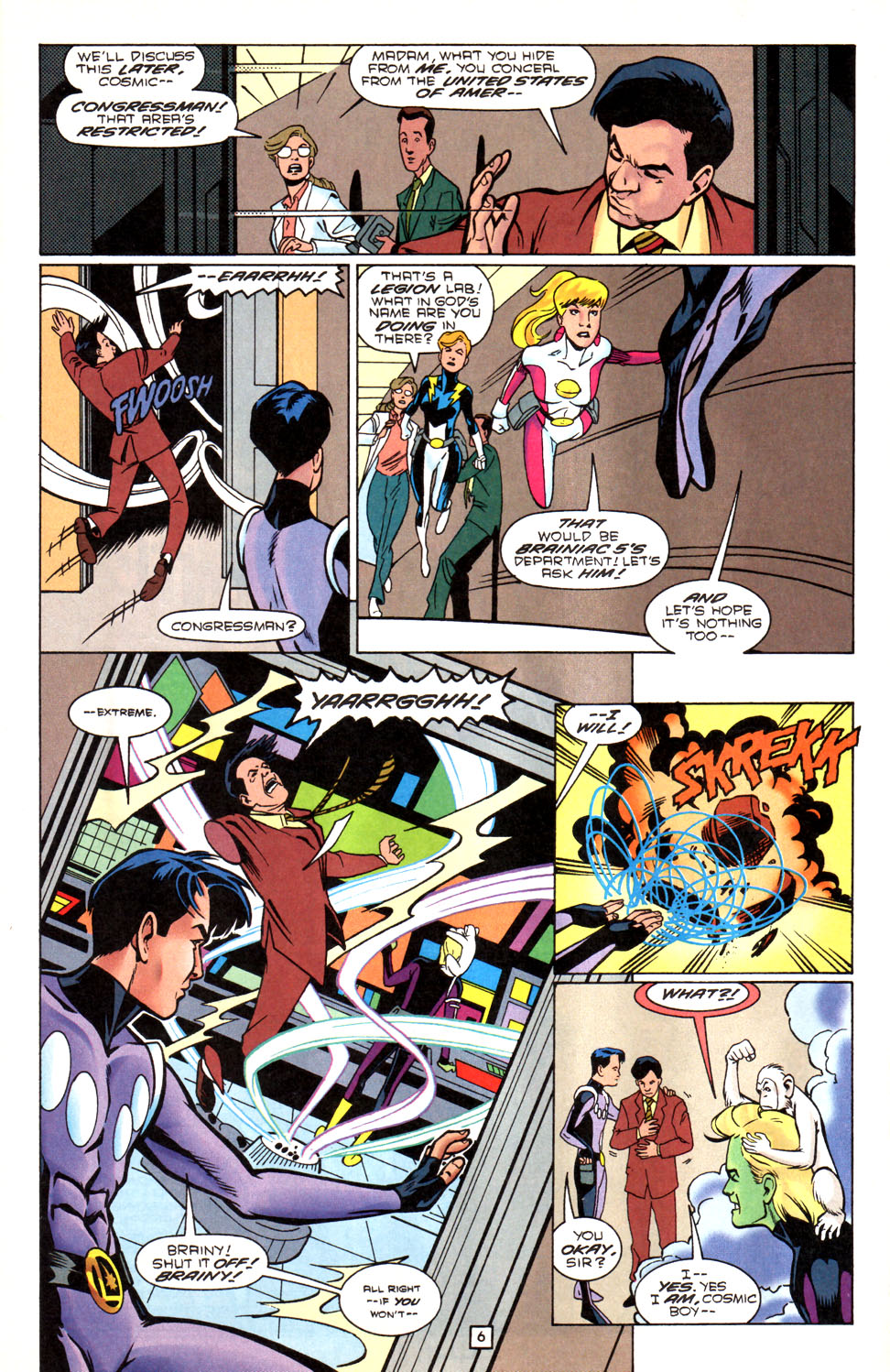 Legion of Super-Heroes (1989) 88 Page 6