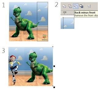 Cara Memotong Foto di Corel DRAW