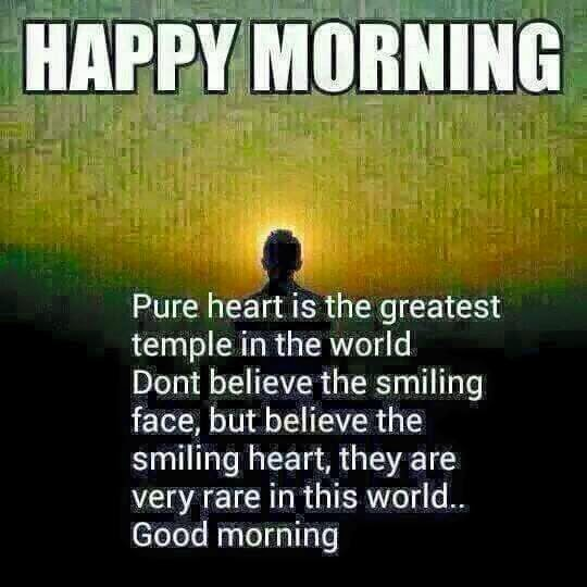 happy morning inspiring message