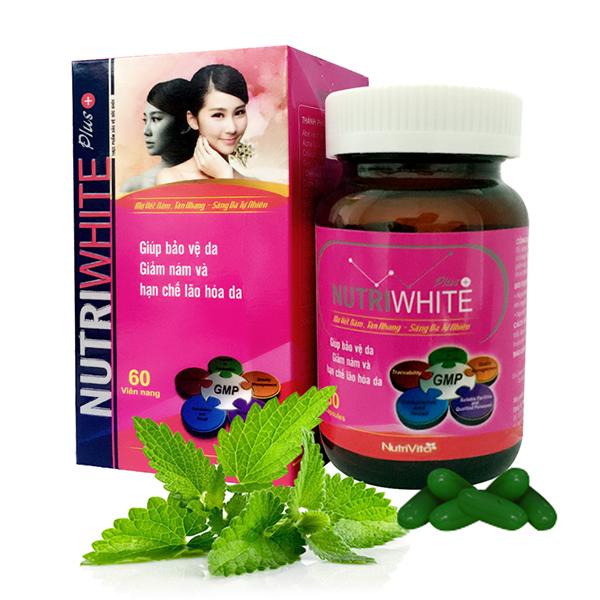 Viên uống trị nám Nutri White Plus+