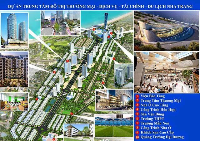 phân khu quy hoạch dự án sân bay nha trang hotline 0934136173