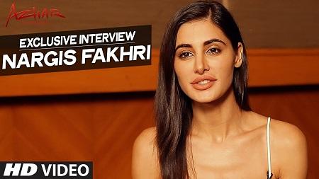 AZHAR Nargis Fakhri New Indian Movie 2016 Exclusive Interview