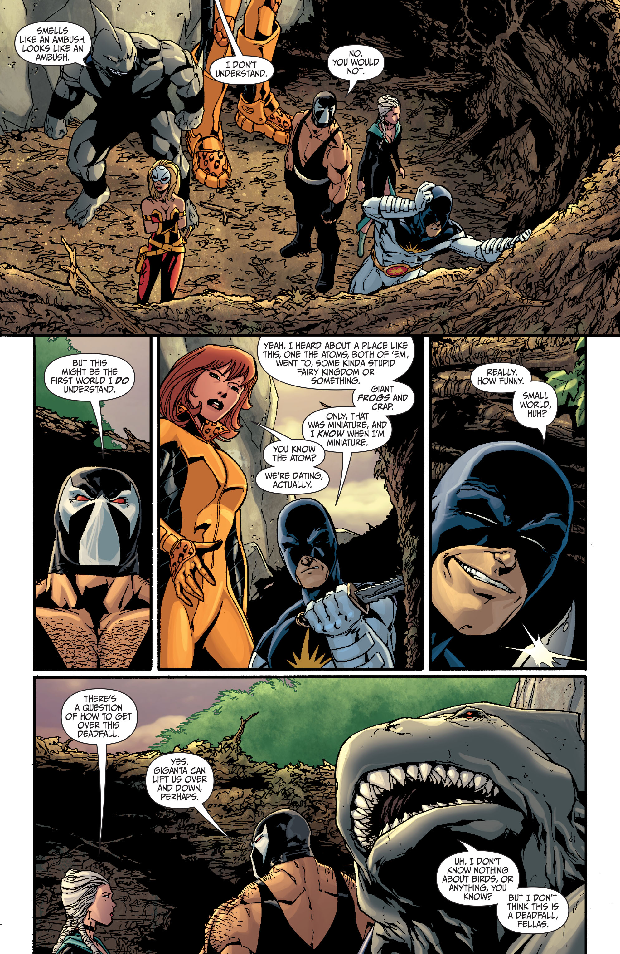 Read online Secret Six (2008) comic -  Issue #25 - 17