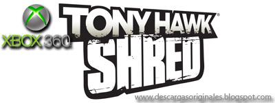 Descargas Originales: Tony Hawk: Shred (2010)[Xbox 360 R