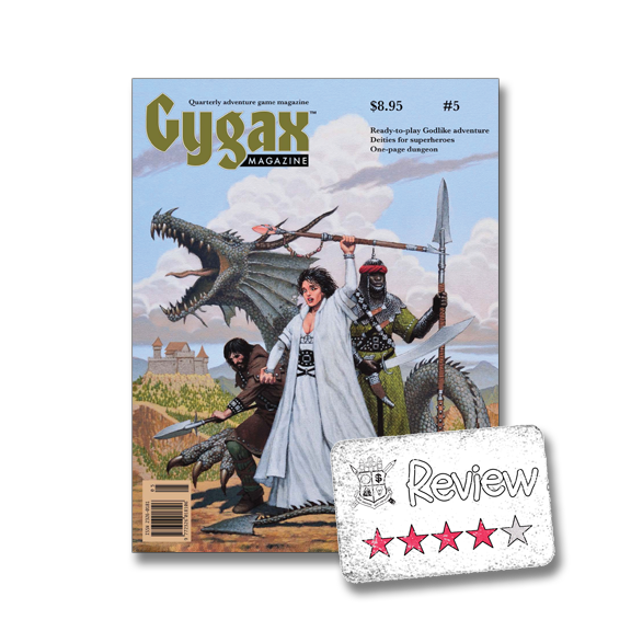 Frugal GM Review: Gygax Magazine Issue #5
