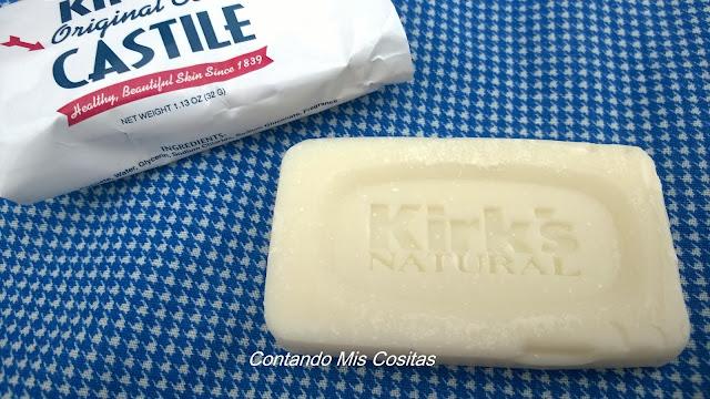 Kirk's jabón coco