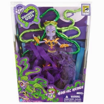 SDCC 2014 Mane-iac Mayhem Doll Packaging