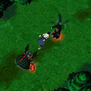 naruto castle defense boss sasuke zatsu karin suigetsu jugo