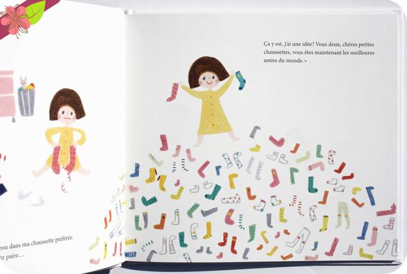 Les chaussettes de Tina de Okay Tina - éditions hélium
