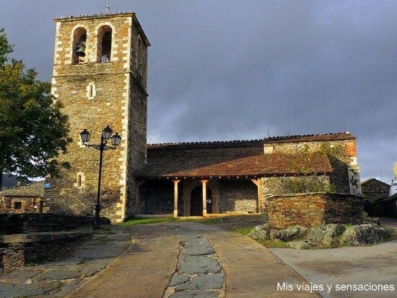 Iglesia Santa María Magdalena, Campillo de Ranas, arquitectura negra, Guadalajara, Castilla la Mancha