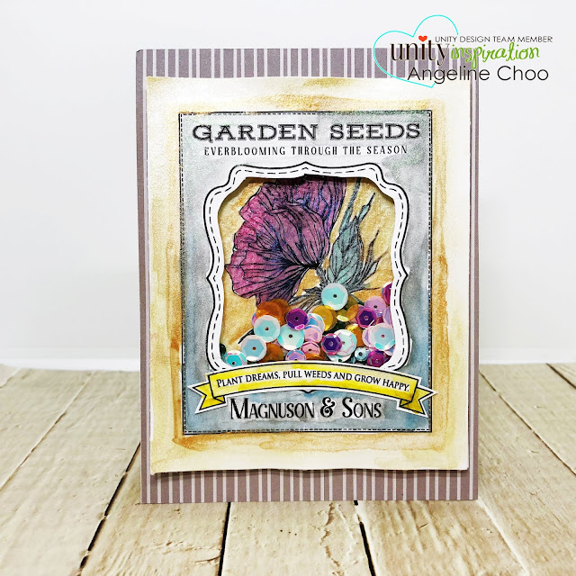 ScrappyScrappy: [NEW VIDEOS] Summer release with Unity Stamp - Everblooming #scrappyscrappy #unitystampco #quicktipvideo #youtube #primamarketing #watercolor #metallicwatercolor #shakercard #gardenseedpacket #floralart  #unitysequins #sequins