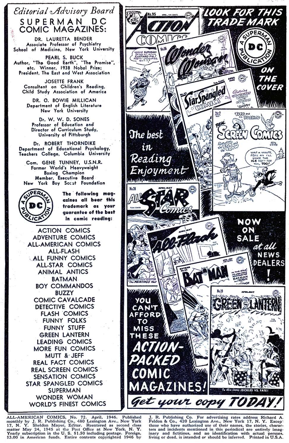 Read online All-American Comics (1939) comic -  Issue #72 - 2