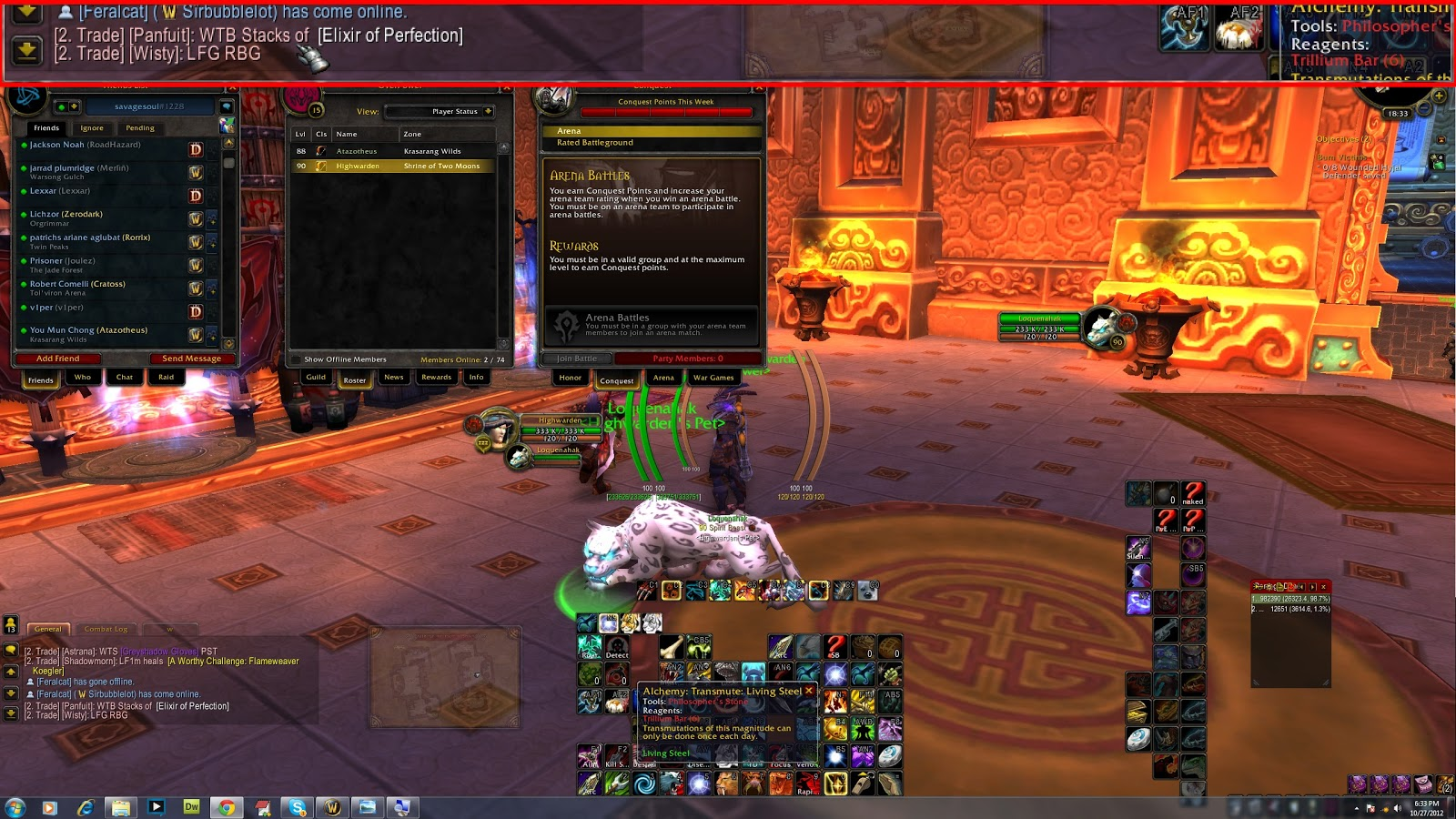 Monitoring /2 Trade Chat from anywhere in World of Warcraft