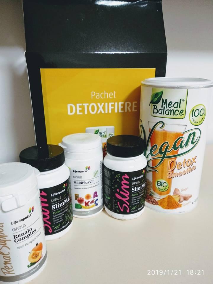pachet de detoxifiere