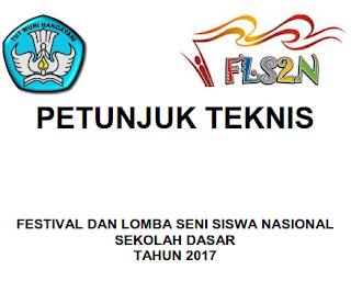 FLS2N | Festival dan Lomba Seni Siswa Nasional Sekolah Dasar Tahun 2017