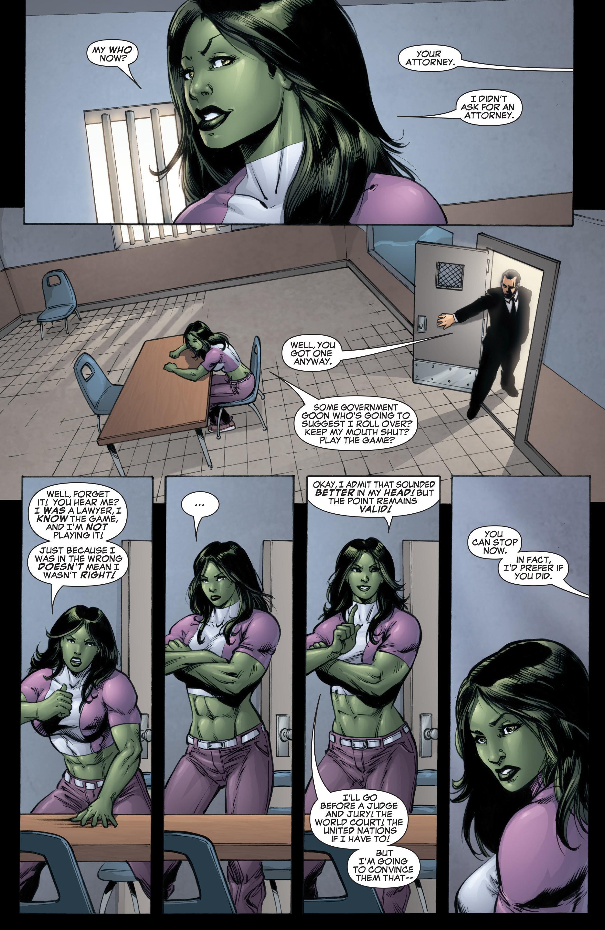 Read online She-Hulk (2005) comic -  Issue #37 - 6