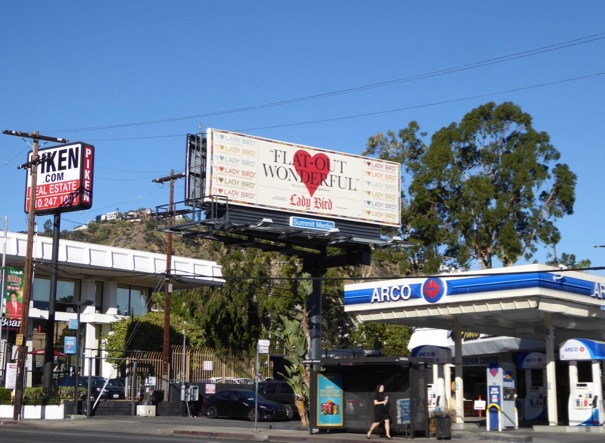 Lady Bird film billboard