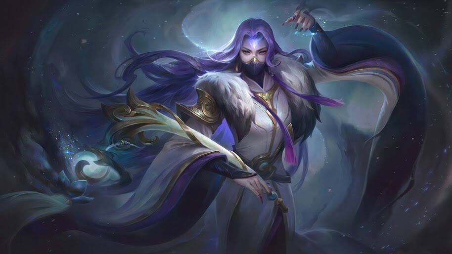 Luo Yi, Mobile Legends, 4K, #3.2024