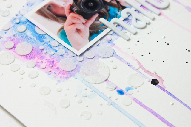 Mixed Media Layout im CAS Stil | Janna Werner