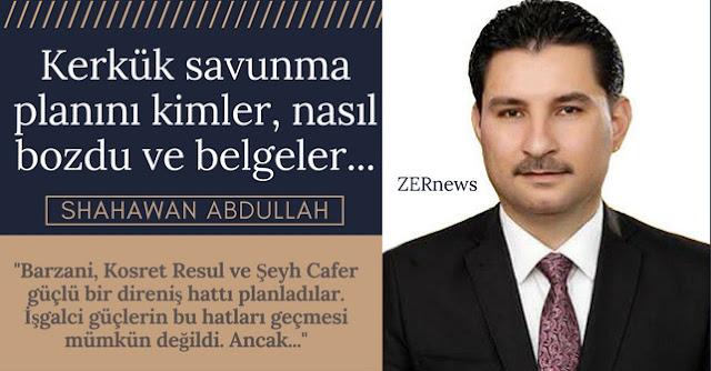 Kerkük Kürdistan Barzani Haşdi Şabi İran Makale yazar nasış düştü