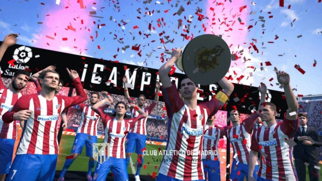 PES 2017 Spanish Competition Entrance & Trophy Pack by Irvanlana