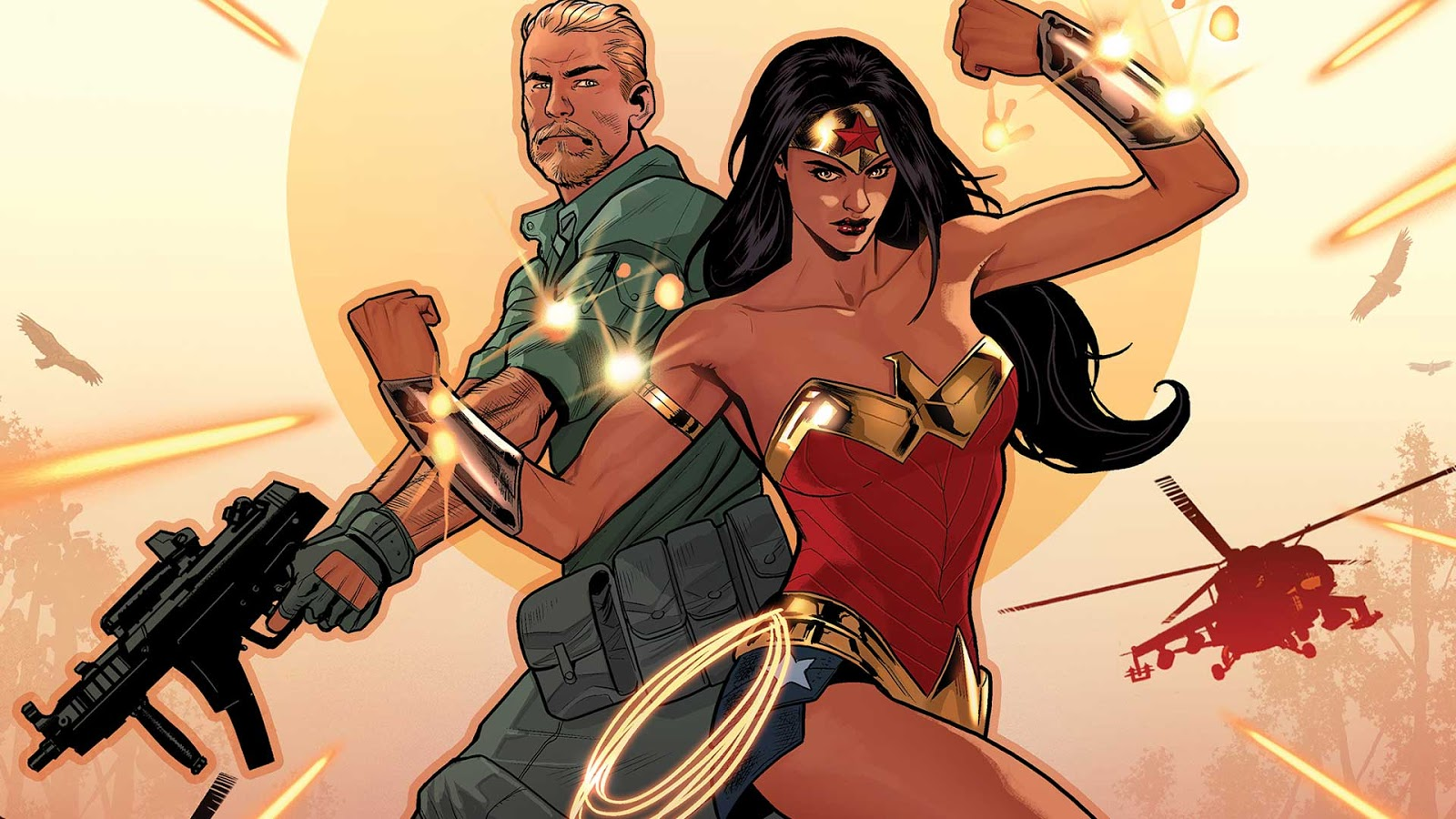 Wonder Woman Steve Trevor 1 Review