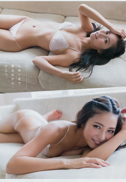 石川恋 Ren Ishikawa Young Champion No 1 2017 Images
