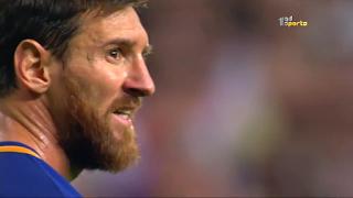 مباراة برشلونة وفالنسيا ذهاب نصف نهائي كأس الملك