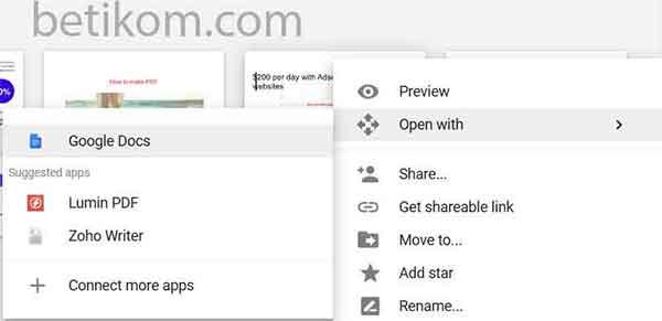 buka google docs
