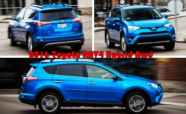 2016 toyota rav4 hybrid awd cars toyota review. Black Bedroom Furniture Sets. Home Design Ideas
