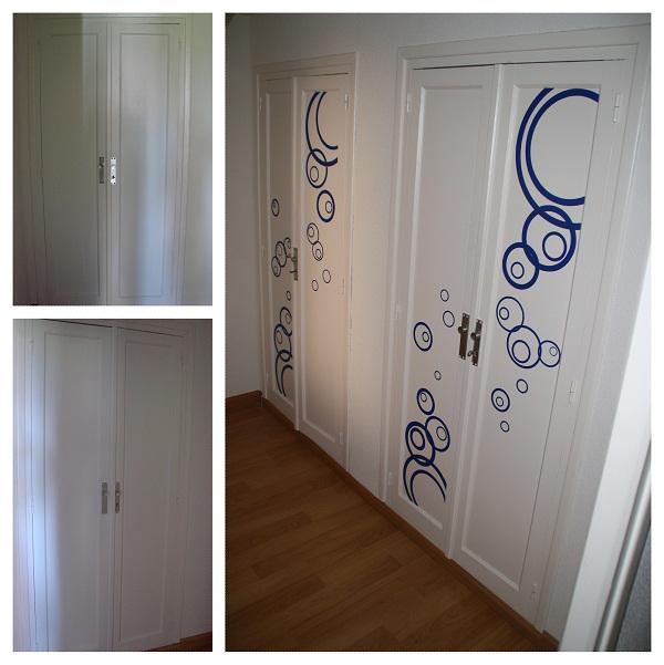 Ideas Para Decorar Puertas De Armarios Cool Puertas